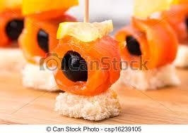 canape saumon canape olive saumon canape olive citron saumon