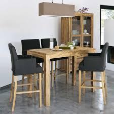 fabriquer une table haute de cuisine table de cuisine haute avec rangement maison design bahbe com