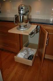 Kitchen Aid Cabinets by Kitchen Aid Mixer Storage Ideas Hardware Is About 90 On Amazon