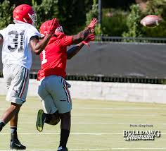freshman william poole defends sony michel day one fall camp