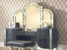 black vanity set with lights makeup vanity set with lighted mirror awesome bedroom extraordinary