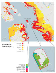 Washington State Earthquake Map by Sand And Silt Require 137 Million Fix For Treasure Island San