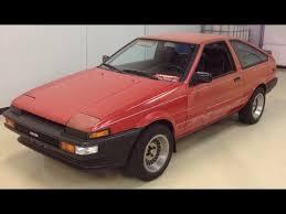 1986 toyota corolla gts hatchback for sale toyota ae86 corolla gts hatchback tuneup and jdm bumpers and