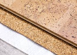 laying technology of cork floor on concrete base with layers