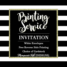 invitation printing services professional printing service for invitations print services