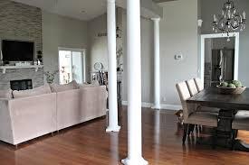 gray paint for open floor plan