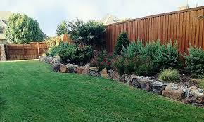 Rock Borders For Gardens Landscaping Rock Borders Landscape Borders Four Seasons Lawn Care
