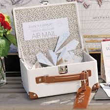 wedding favors unlimited mini suitcase wishing well alternative wedding guest book
