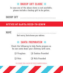 official letters from santa office of santa official wish list