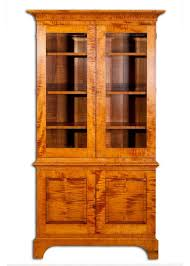 eric johnson u0027s furniture weblog bookcase custom tiger maple bookcase