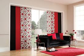 panel track blinds indoor best house design fashionable panel