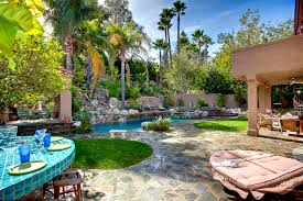 outdoor spaces design guide hgtv backyard with water fountain