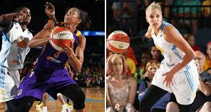 candace parker and elena delle donne duel in chicago video