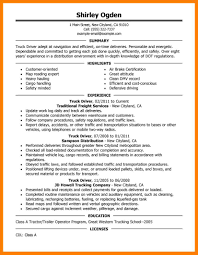 resume examples for truck drivers resume objective examples bus