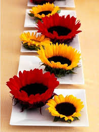 sunflower centerpiece simple and unique sunflower centerpiece budget brides guide a