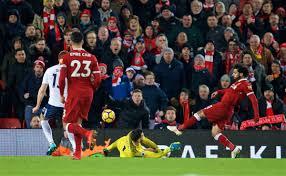 Flagging Liverpool Liverpool 2 2 Tottenham Match Analysis Anfieldhq