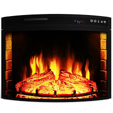 Electric Fireplace Insert Elite 26 Inch Curved Electric Fireplace Insert