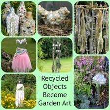 home decor from recycled materials artistic endeavors 101 recycled materials become garden decor