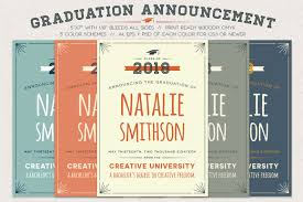 college graduation announcement template design graduation invitations