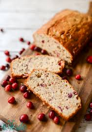 this cranberry nut bread recipe is a brilliant and delicious