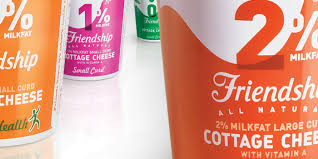 Friendship Cottage Cheese Nutrition by Before U0026 After Friendship Dairies U2014 The Dieline Packaging