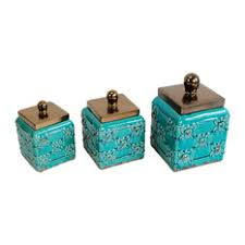 ceramic canisters for the kitchen mediterranean kitchen canisters and jars houzz