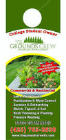 Mowing Business Cards Marketing Tips And Lawn Care Business Door Hanger Design Lawn
