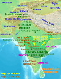 North India Map by Satavahana Jpg