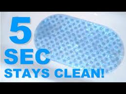Gator Grip Bath Mat 5 Seconds To Keep Your Bath Mat Clean Youtube