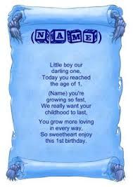 baby boy poems personalised poem baby boy birthday gift print co