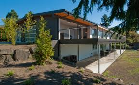 architecture sensational large balcony views in mid century