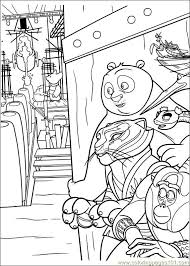 kung fu panda 2 29 coloring free kung fu panda coloring