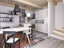 cucina e sala da pranzo divano cucina su misura interiorbe