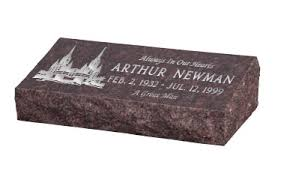 grave markers prices pillow top gravemarker hickey style gravemarker bevel