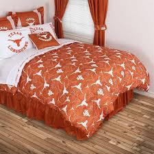 Mossy Oak Bedding Texas Longhorns Comforter All Over Print Blanket Warehouse