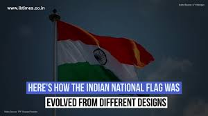 The Indian Flag Watch How The Indian National Flag Was Evolved Video Ibtimes India
