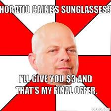 Horatio Caine Meme Generator - horatio caine sunglasses meme more information djekova