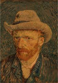 Nightmare Before Christmas Decorations Halloween Van Gogh Vintage Kraft Paper Poster Retro Van Gogh Impressionist Masterpiece