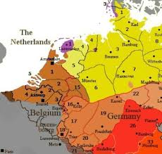 belgium language map the language border between german and like quora
