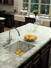 marble kitchen countertops hgtv