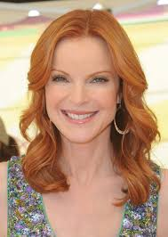 red hair for over 50 marcia cross vibrant red haute hairstyles for women over 50