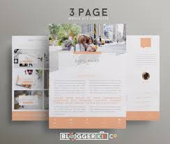 Home Design Media Kit Mommy Blogger Media Kit Template Diy Media Kit Templates