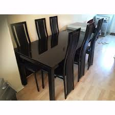 Black Extending Dining Table And Chairs Dining Tables Chairs In Suites Harvey Norman And 7 Evashure