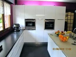 modele cuisine en l modele cuisine noir et blanc modele cuisine blanc laque modele