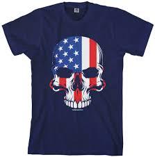 American Flag Skull Threadrock Tees For Adults And Kids American Flag Skull