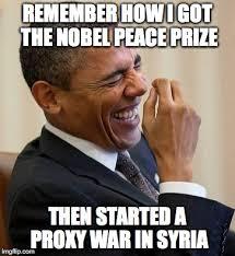 Proxy Meme - image tagged in obama syria imgflip