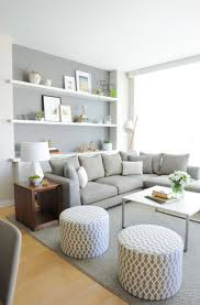 Grey Sofa Living Room Decor by Decorating Ideas For White And Gray Sofa The Most Suitable Home Design