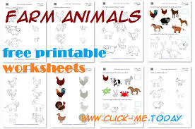 printable animal activities printable farm animals worksheets activities