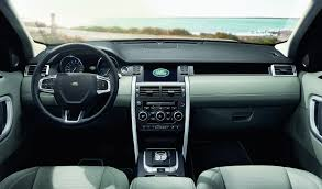 land rover convertible interior 2018 land rover discovery sport and range rover evoque get new engines