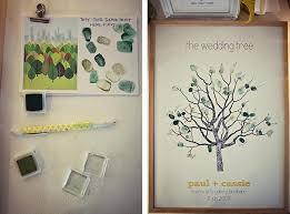 tree signing for wedding jpm design wedding thumbprint tree